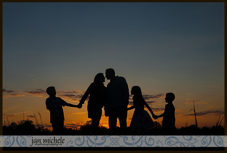 Sunset Family Photos At 48 Fields