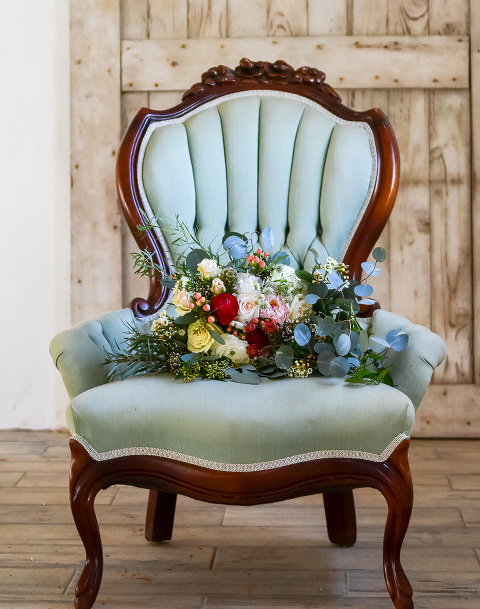 Jewel Tone Rustic Wedding Style Shoot at 48 Fields in Leesburg VA