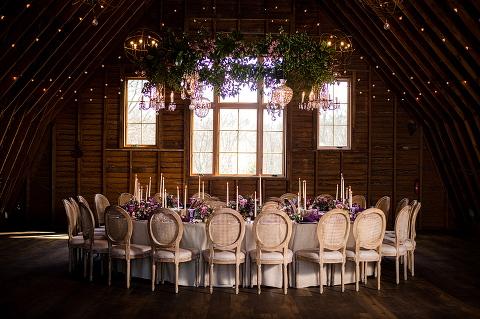 11 Floral Chandeliers That Will WOW at Your Wedding